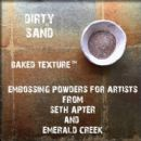 Seth Apter, Emerald Creek Baked Texture 17g Embossing Powder - Dirty Sand